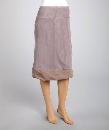 Saga Rose Mesh A-Line Skirt