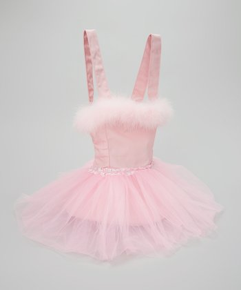 Pink Boa Tutu Backpack