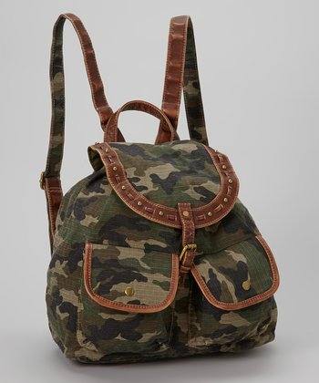 Olive Camo Backpack