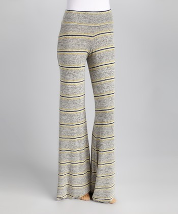 Lemon Mohawk Wide Pants