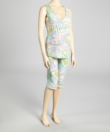Pastel Dream Maternity & Nursing Pajamas - Women