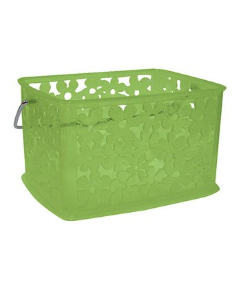 Green Blumz Small Basket