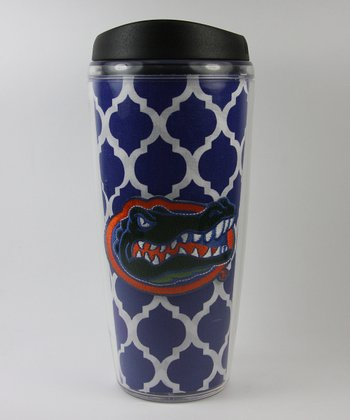 Florida Quatrefoil Travel Mug