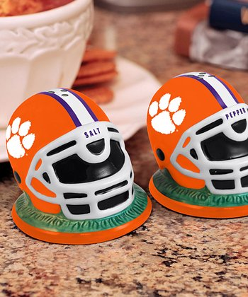 Clemson Helmet Salt & Pepper Shakers