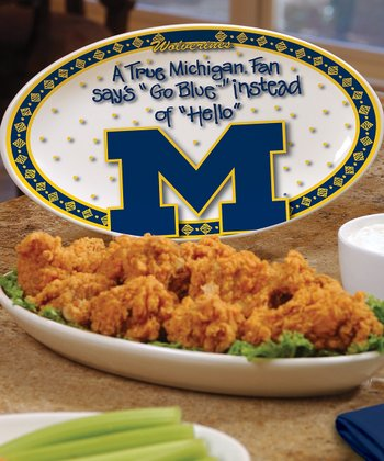 Michigan True Fan Platter