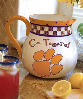 Clemson Game Day Pitcher