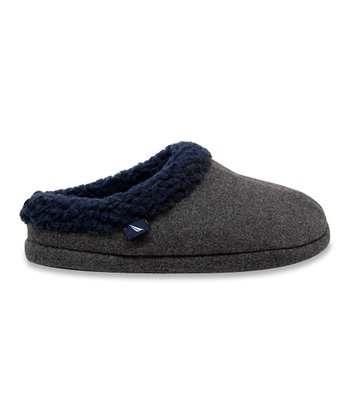 Gray Riverview Slipper