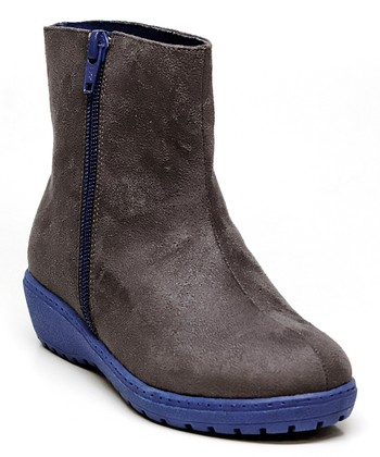 Gray & Purple Sternway Boot