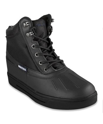 Black New Bedford Winter Boot