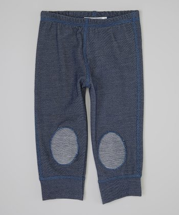 Blue Squeaker Jeggings - Infant