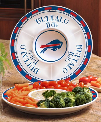Buffalo Bills Divided Platter