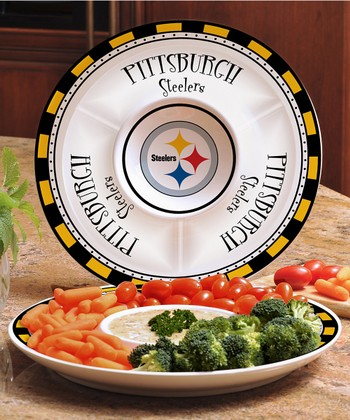 Pittsburgh Steelers Divided Platter