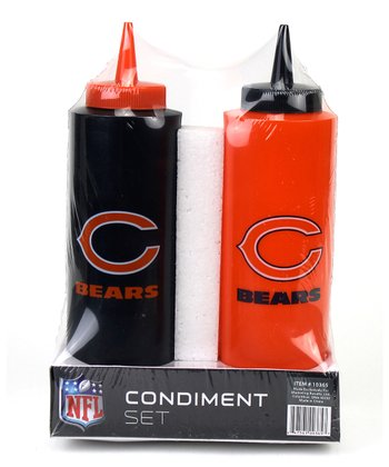 Chicago Bears Condiment Set