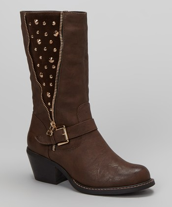 Brown Bernardo Boot