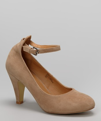Nude Kimmy Pump