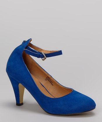 Royal Blue Kimmy Pump