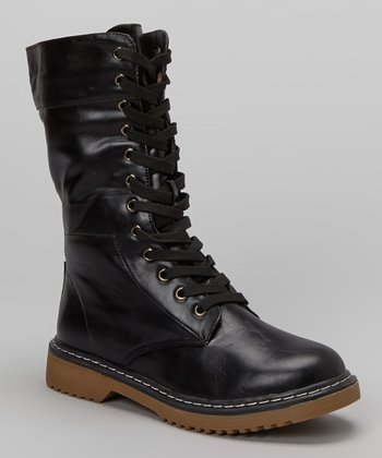 Black Pensky Boot