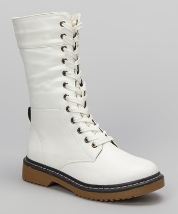 White Pensky Boot