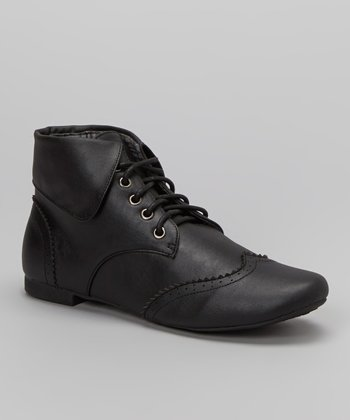 Black Sophia Ankle Boot