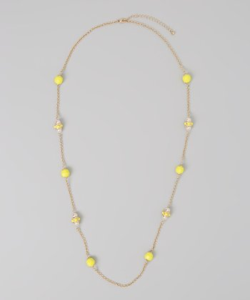 Yellow Royal Necklace