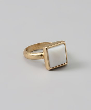 White Square Ring