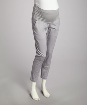 Smoke Over-Belly Maternity Pants