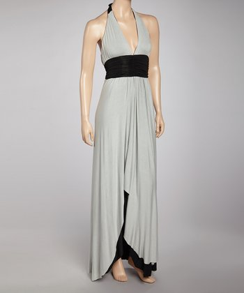 Black & Gray Dress - Women