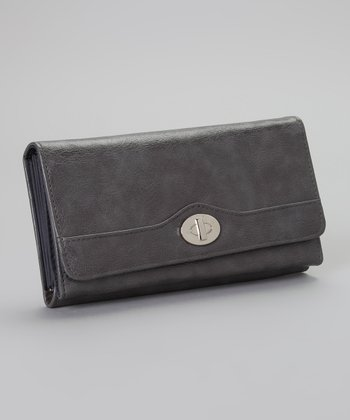Mink Shiny Grains File Master Wallet