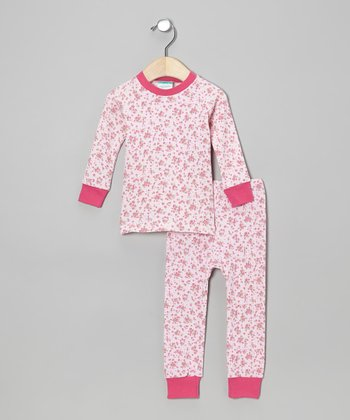 Pink Roses Pajama Set - Infant & Toddler