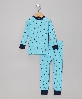 Blue Stars Pajama Set - Infant & Toddler