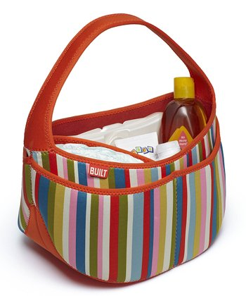 Baby Pink Stripe Baby Buddy Essentials Caddy