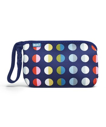 Rainbow Dot No. 9 Go-Go Diaper Clutch