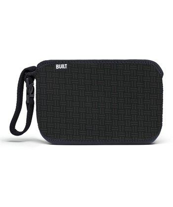 Black Gridlock Go-Go Diaper Clutch