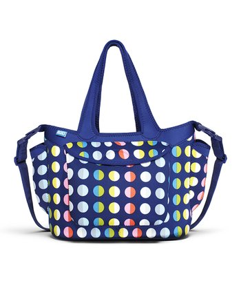 Rainbow Dot No. 9 Go-Go Diaper Tote