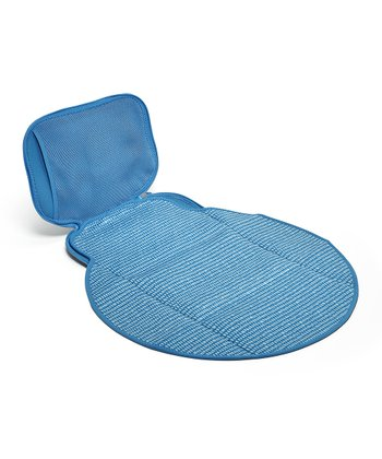 Blue Dribble Dot Diaper Buddy Changing Pad