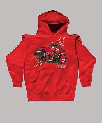 Red 'Case IH' Tractor Hoodie - Toddler & Kids