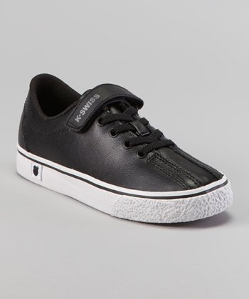 Black & White Clean Laguna Sneaker