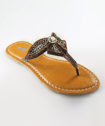 Brown Danisa Sandal
