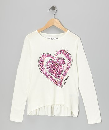 Vanilla Ice Leopard Heart Tee - Toddler
