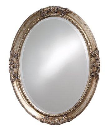 Oval Queen Ann Mirror