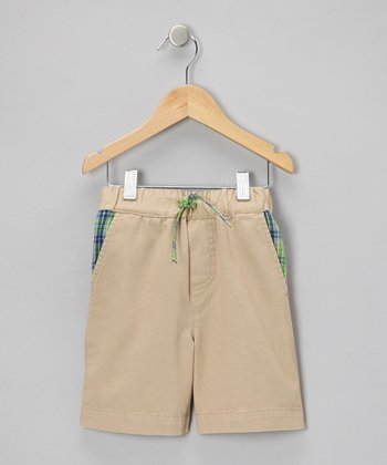 Khaki Approach Shorts - Infant, Toddler & Boys