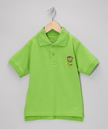 Green Tour Polo - Toddler & Boys