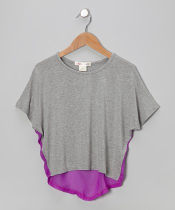 Heather Erin Chiffon Dolman Top - Toddler & Girls