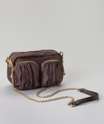 Brown Pocket Crossbody Bag