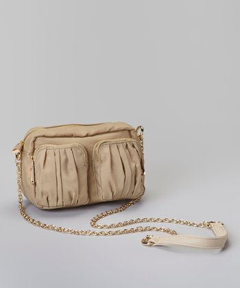 Khaki Pocket Crossbody Bag