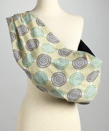 Lime & Blue Medallion Sling