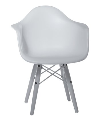 White Dewey Arm Chair