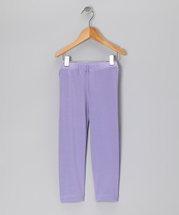 Lavender Organic Leggings - Infant & Toddler