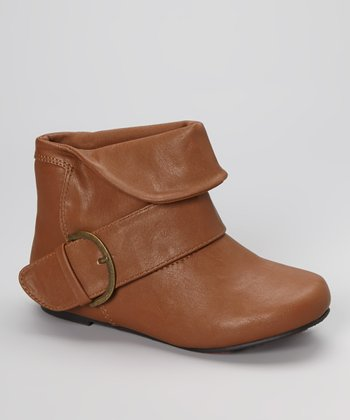 Tan Smooth Jolyn Boot
