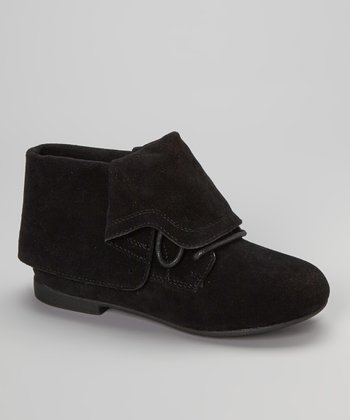 Black Nessa Convertible Ankle Boot